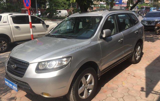 Bán Hyundai Santa Fe 2.7AT đời 2007, màu bạc, nhập khẩu1