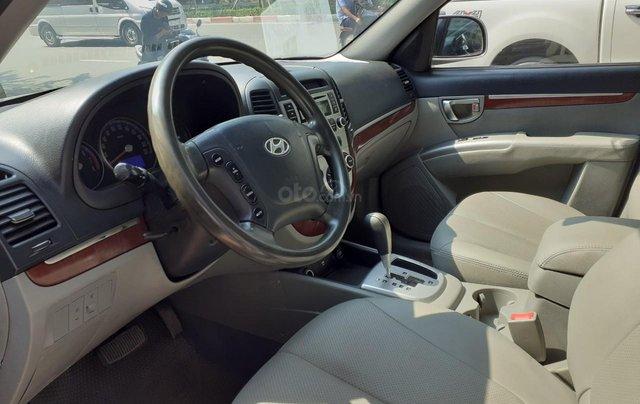 Bán Hyundai Santa Fe 2.7AT đời 2007, màu bạc, nhập khẩu11