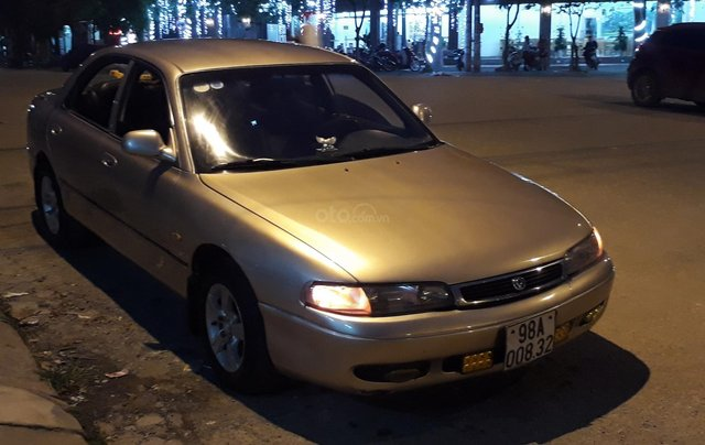 Cần bán xe Mazda 626 1997, màu vàng, nhập khẩu nguyên chiếc7