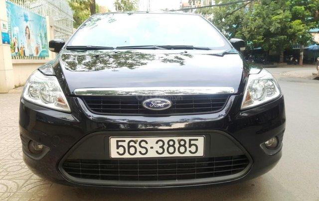 Ford Focus 1.8 đăng ký T10/ 2010, màu đen, liên hệ chính chủ 0913992465 Thanh0