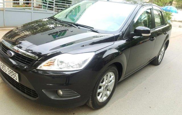 Ford Focus 1.8 đăng ký T10/ 2010, màu đen, liên hệ chính chủ 0913992465 Thanh1
