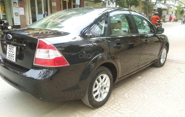 Ford Focus 1.8 đăng ký T10/ 2010, màu đen, liên hệ chính chủ 0913992465 Thanh5