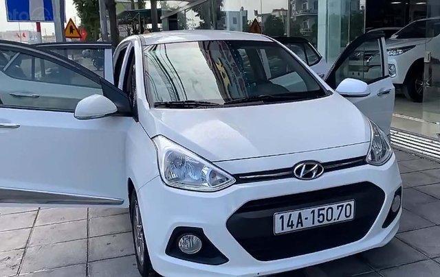 Bán ô tô Hyundai Grand i10 đời 2014, màu trắng, nhập khẩu nguyên chiếc số tự động4