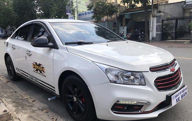 Bán ô tô Chevrolet Cruze LT đời 2016, màu trắng1