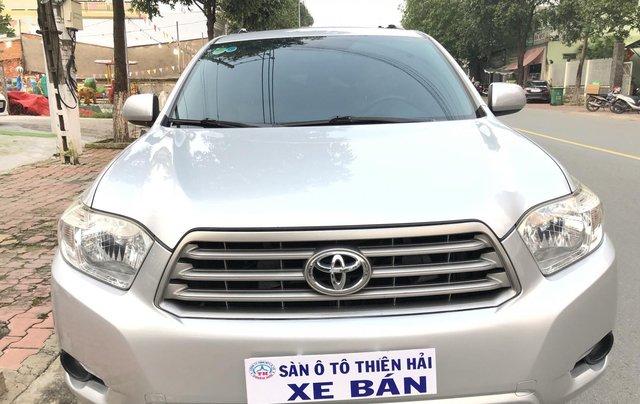 Cần bán xe Toyota Highlander 2.7 AT 2011, màu bạc, xe nhập1