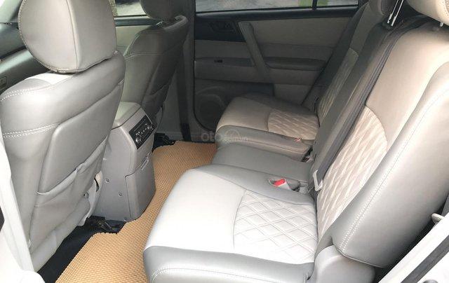 Cần bán xe Toyota Highlander 2.7 AT 2011, màu bạc, xe nhập7