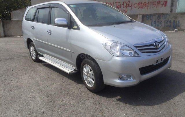 Bán xe Toyota Innova đăng ký lần đầu 2010, màu bạc xe gia đình giá 355 triệu đồng0