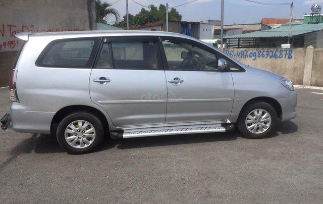 Bán xe Toyota Innova đăng ký lần đầu 2010, màu bạc xe gia đình giá 355 triệu đồng2