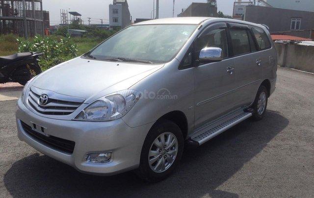 Bán xe Toyota Innova đăng ký lần đầu 2010, màu bạc xe gia đình giá 355 triệu đồng4