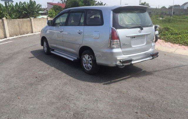Bán xe Toyota Innova đăng ký lần đầu 2010, màu bạc xe gia đình giá 355 triệu đồng6