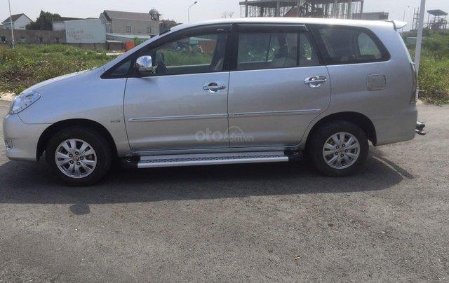 Bán xe Toyota Innova đăng ký lần đầu 2010, màu bạc xe gia đình giá 355 triệu đồng3