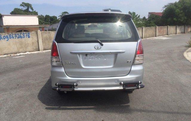 Bán xe Toyota Innova đăng ký lần đầu 2010, màu bạc xe gia đình giá 355 triệu đồng5