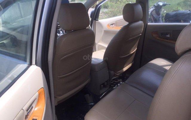 Bán xe Toyota Innova đăng ký lần đầu 2010, màu bạc xe gia đình giá 355 triệu đồng7