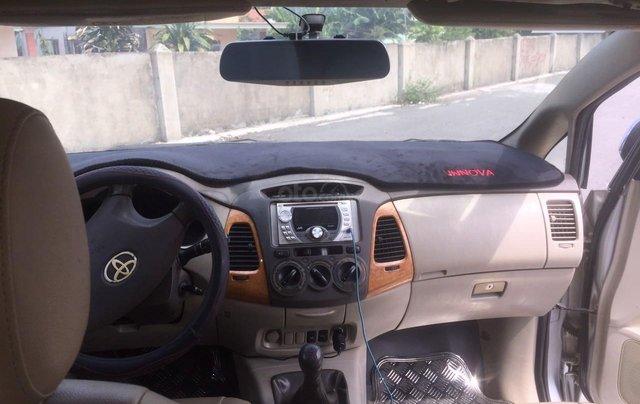 Bán xe Toyota Innova đăng ký lần đầu 2010, màu bạc xe gia đình giá 355 triệu đồng11