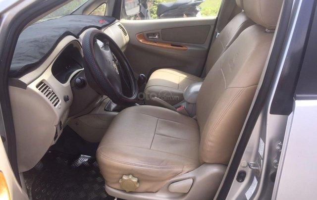 Bán xe Toyota Innova đăng ký lần đầu 2010, màu bạc xe gia đình giá 355 triệu đồng10