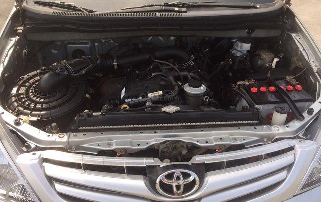 Bán xe Toyota Innova đăng ký lần đầu 2010, màu bạc xe gia đình giá 355 triệu đồng12