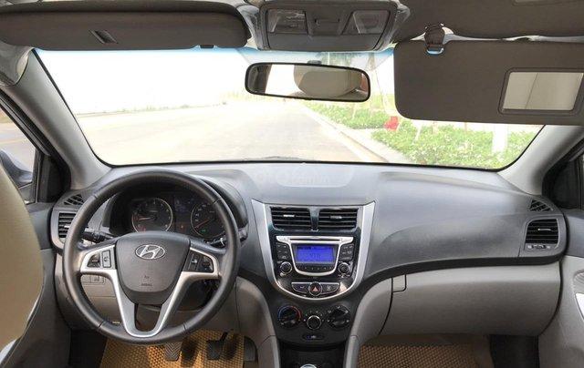 Bán ô tô Hyundai Accent 1.5MT Sedan 2014, màu bạc, xe nhập, giá tốt3