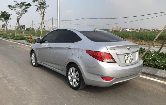 Bán ô tô Hyundai Accent 1.5MT Sedan 2014, màu bạc, xe nhập, giá tốt2
