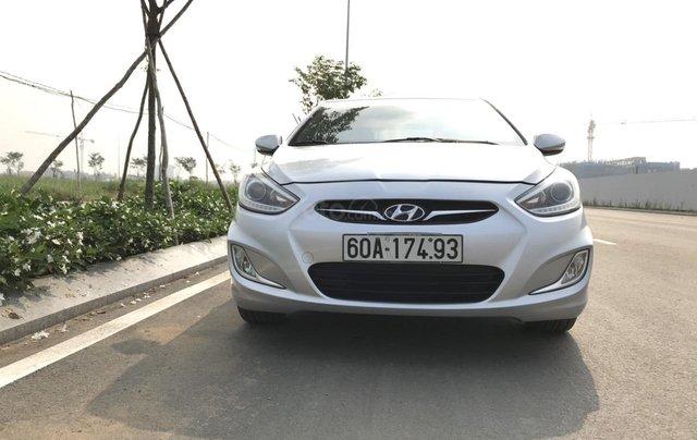 Bán ô tô Hyundai Accent 1.5MT Sedan 2014, màu bạc, xe nhập, giá tốt7