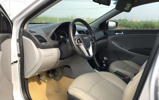 Bán ô tô Hyundai Accent 1.5MT Sedan 2014, màu bạc, xe nhập, giá tốt6