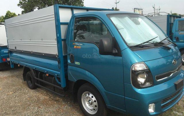 Thaco Kia K200 thùng lửng, mui bạt, thùng kín, tải 990-1490-1990kg, KM 50% lệ phí trước bạ, hỗ trợ trả góp 30% xe0