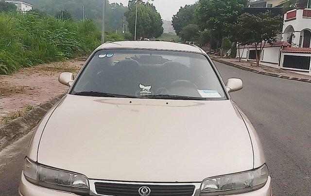 Cần bán xe Mazda 626 1997, màu vàng, nhập khẩu nguyên chiếc5