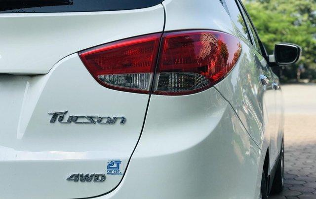 Bán xe Hyundai Tucson đời 2011, màu trắng6