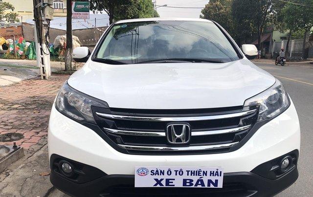 Cần bán xe Honda CR V 2.4 L đời 2013, màu trắng0