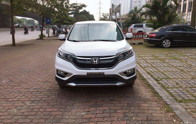 Cần bán xe Honda CR V đời 2015, màu trắng xe gia đình giá 820 triệu đồng1