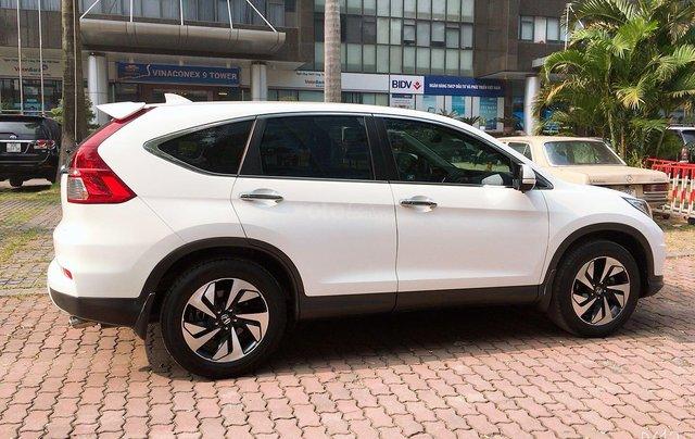 Cần bán xe Honda CR V đời 2015, màu trắng xe gia đình giá 820 triệu đồng0