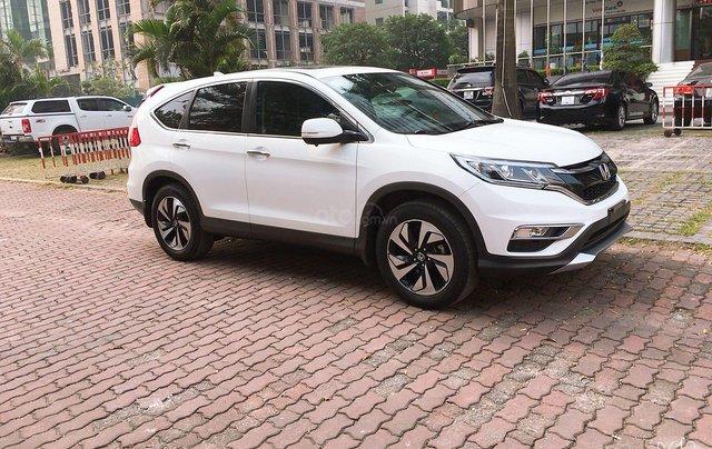 Cần bán xe Honda CR V đời 2015, màu trắng xe gia đình giá 820 triệu đồng2