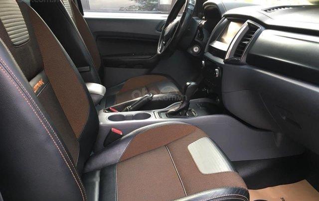 Xe Ford Ranger Wildtrak 3.2l 4x4 đời 2016, màu bạc nhập khẩu nguyên chiếc giá thương lượng hotline 09012678554