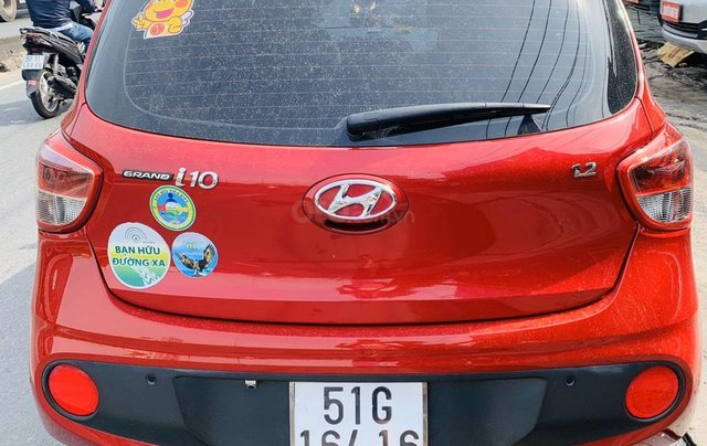 Xe gia đình cần bán Grand i10 sản xuất 2018, bán nhanh trong ngày1