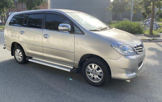 Bán ô tô Toyota Innova đăng ký 2011, màu vàng, mới 95%, giá tốt 370 triệu đồng0