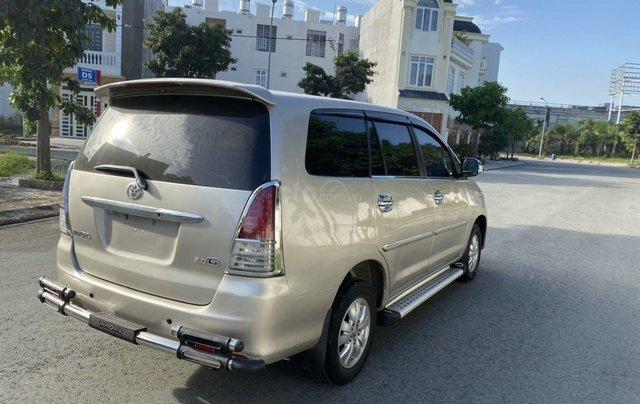 Bán ô tô Toyota Innova đăng ký 2011, màu vàng, mới 95%, giá tốt 370 triệu đồng7