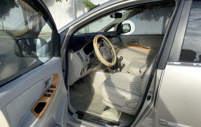Bán ô tô Toyota Innova đăng ký 2011, màu vàng, mới 95%, giá tốt 370 triệu đồng8