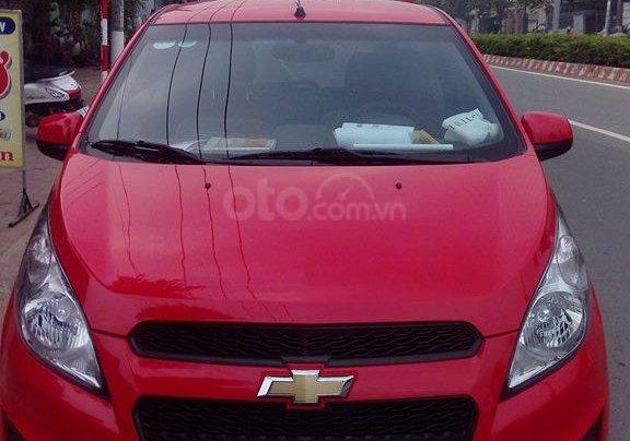Cần bán xe Chevrolet Spark 2016, màu đỏ, giá chỉ 222 triệu0