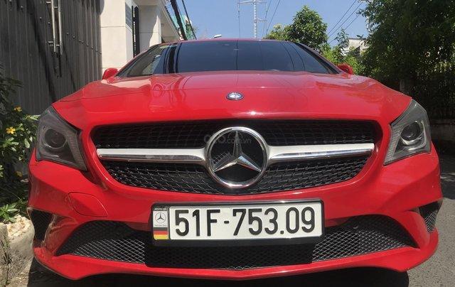 Bán CLA2000 sản xuất 2015, màu đỏ, xe quá mới đi 46.000km, xe bao kiểm tra tại hãng1