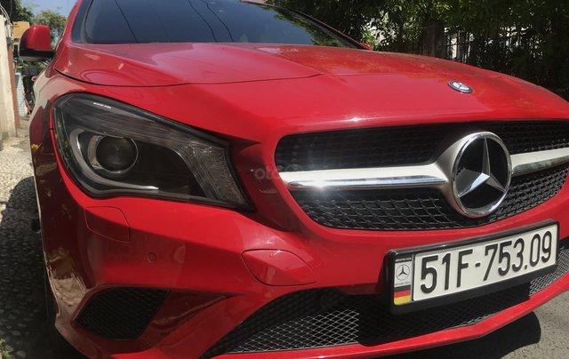 Bán CLA2000 sản xuất 2015, màu đỏ, xe quá mới đi 46.000km, xe bao kiểm tra tại hãng2