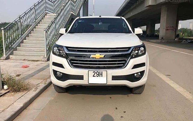 Bán xe Chevrolet Colorado 2.5 AT sản xuất 2018, màu trắng ít sử dụng0