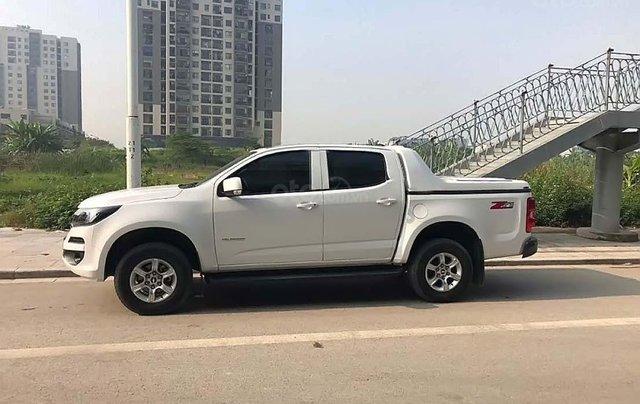 Bán xe Chevrolet Colorado 2.5 AT sản xuất 2018, màu trắng ít sử dụng1