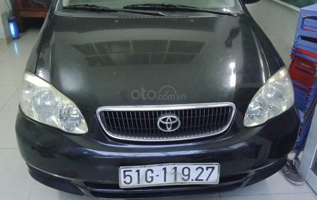 Bán xe Toyota Corolla Altis đời 2003, màu đen