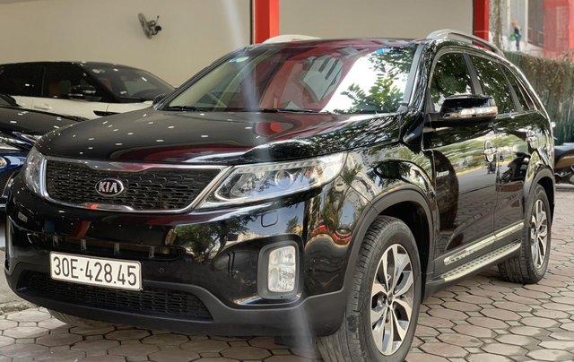 Cần bán xe Kia Sorento đăng ký lần đầu 2017, màu đen, xe gia đình, giá 845 triệu đồng11