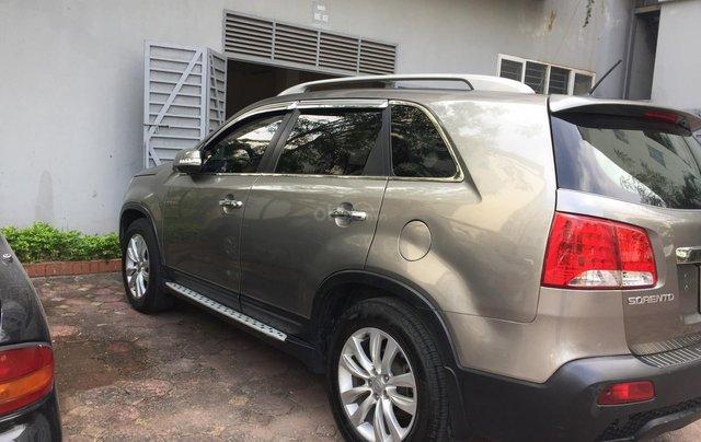 Cần bán xe Kia Sorento DAT 4WD năm 2010, màu xám (ghi), nhập khẩu nguyên chiếc3