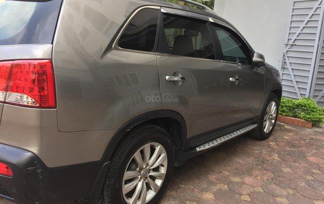 Cần bán xe Kia Sorento DAT 4WD năm 2010, màu xám (ghi), nhập khẩu nguyên chiếc4