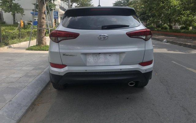 Bán Hyundai Tucson 2015 nhập khẩu bản đủ, màu trắng1
