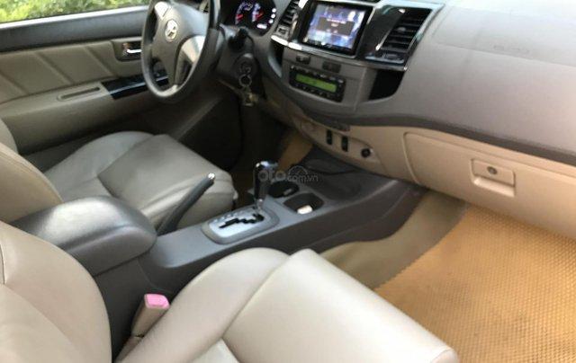 Bán Toyota Fortuner V một cầu số tự động model 20136