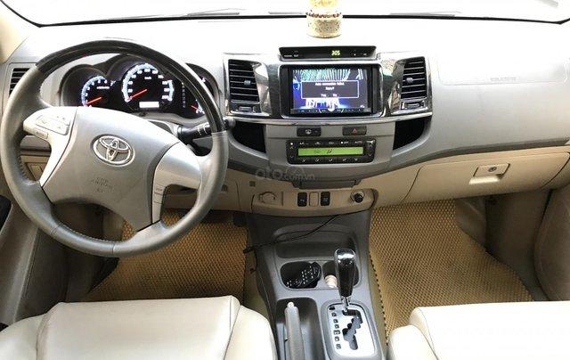 Bán Toyota Fortuner V một cầu số tự động model 20135