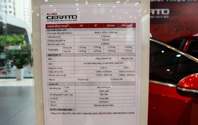 [Kia PVĐ Hà Nội] - Kia Cerato all new 2020 - ưu đãi lên đến 30tr đồng - sẵn xe đủ màu giao ngay - hotline 0938.986.7456