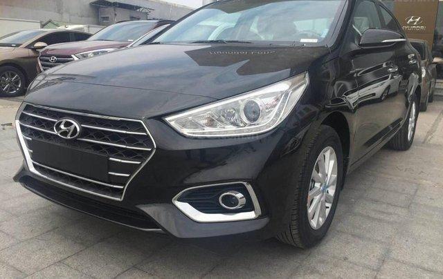 Cần bán Hyundai Accent số sàn full đời 2019, màu đen6